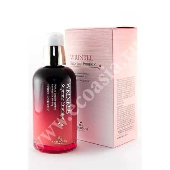 The Skin House (Корея) Питательная эмульсия разглаживающая морщины с женьшенем Wrinkle Supreme