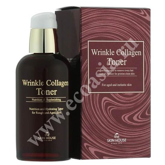 Антивозрастной тоник с коллагеном Wrinkle System The Skin House