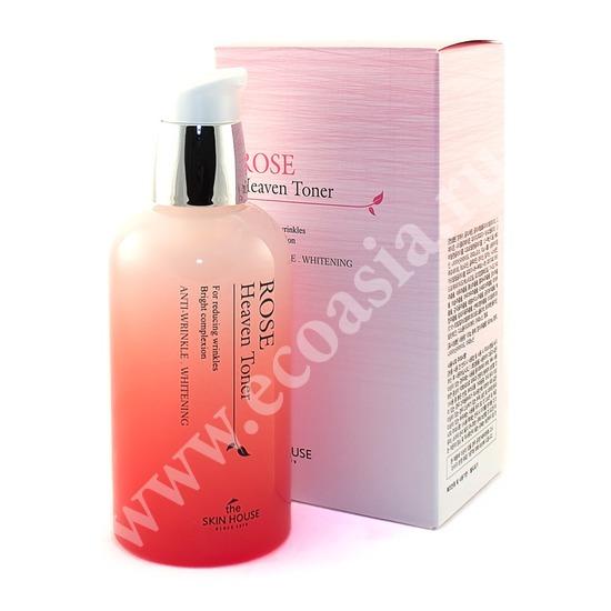 The Skin House (Корея) Тоник для лица с экстрактом розы Rose Heaven
