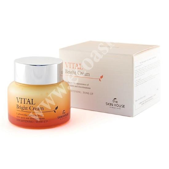 Витаминизированный осветляющий крем Vital Bright The Skin House (фото)