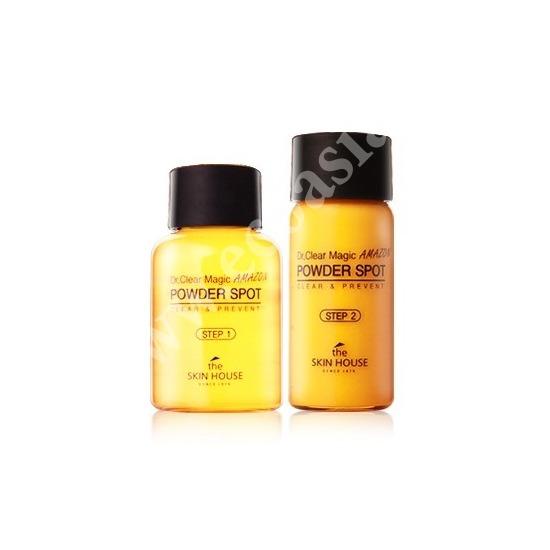 The Skin House (Корея) Точечное средство от воспалений шаг 1, шаг 2 Dr. Clear