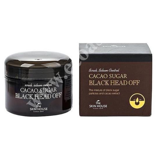 Скраб против черных точек с коричневым сахаром и какао The Skin House (фото)