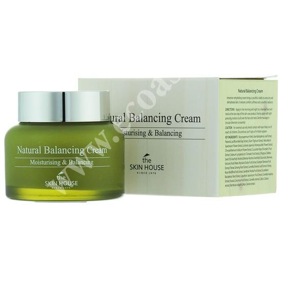 Балансирующий и увлажняющий крем Natural Balancing The Skin House (фото)