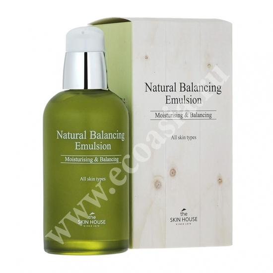 Матирующая балансирующая эмульсия Natural Balancing The Skin House (фото)