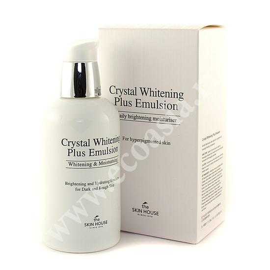 Отбеливающая эмульсия против пигментации Crystal Whitening The Skin House (фото)