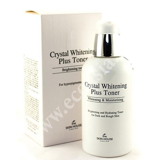 Интенсивно отбеливающий тоник для лица Crystal Whitening The Skin House