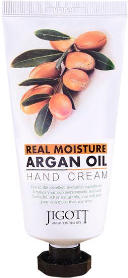 Увлажняющий крем для рук с аргановым маслом Jigott (фото, Увлажняющий крем для рук с аргановым маслом Jigott)