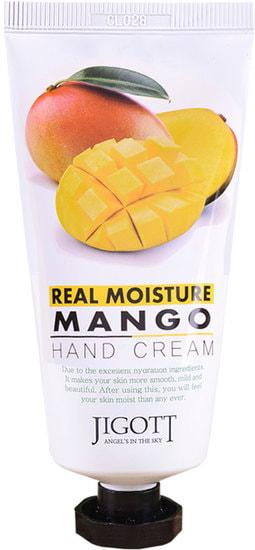Увлажняющий крем для рук с экстрактом манго Jigott (фото,  Увлажняющий крем для рук с экстрактом манго Jigott)