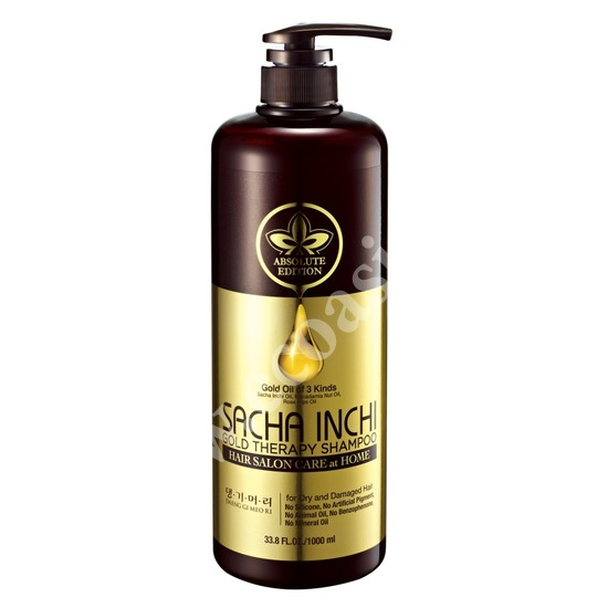 Восстанавливающий шампунь для ломких поврежденных волос Sacha Inchi Daeng Gi Meo Ri