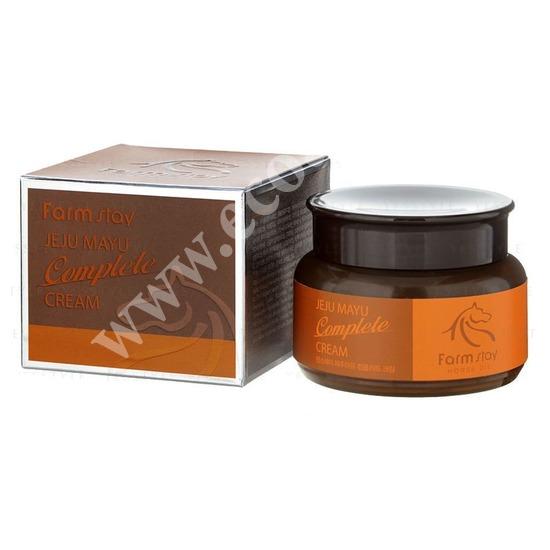Крем с лошадиным маслом для сухой кожи FarmStay (фото)