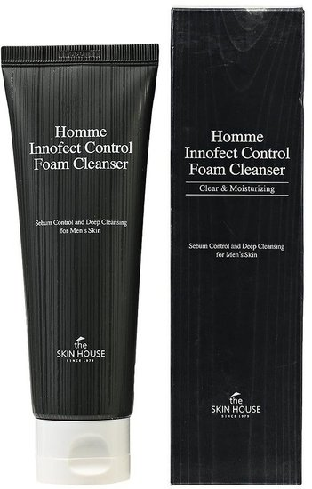 Очищающая пенка для мужчин HOMME INNOFECT The Skin House