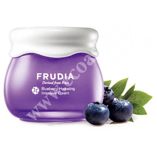 Frudia (Корея) Интенсивно увлажняющий крем с черникой