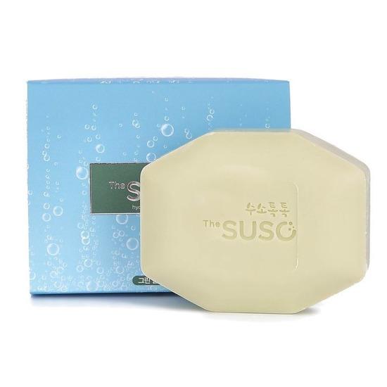 Косметическое мыло с водородом и экстрактом зеленого чая The SUSO (фото)