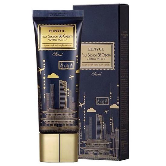 Всесезонный ББ крем для повышения упругости кожи Four Season BB Cream SPF 50 Eunyul