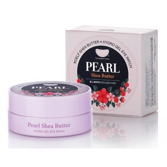 Гидрогелевые патчи для век с маслом ши и жемчужной пудрой Pearl Shea Butter Hydrogel Eye Patch KOELF