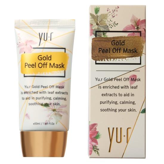 Золотая маска-пленка Gold Peel Off Mask Yu.R (фото)