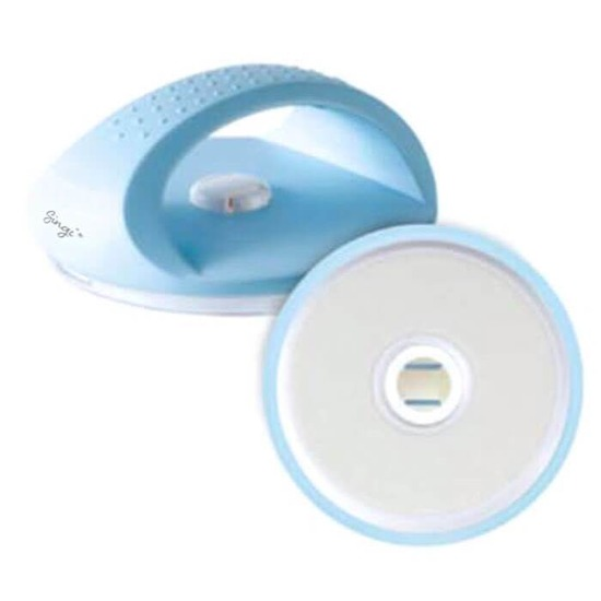 Круглая пилка для очищения загрубевшей кожи на ногах Singi Blue Foot Cleaner (фото)