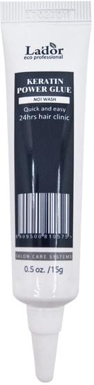 Профессиональная сыворотка-клей с кератином для секущихся кончиков волос Keratin Power Glue Lador (фото)