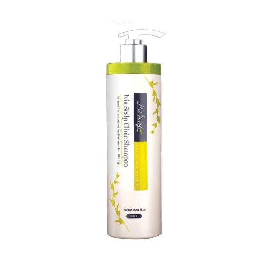 Шампунь с экстрактом плюща Labay Ivia Scalp Clinic Shampoo JPS