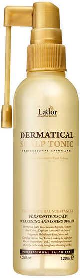 Укрепляющий тоник для волос и кожи головы Dermatical Scalp Tonic Lador (фото)