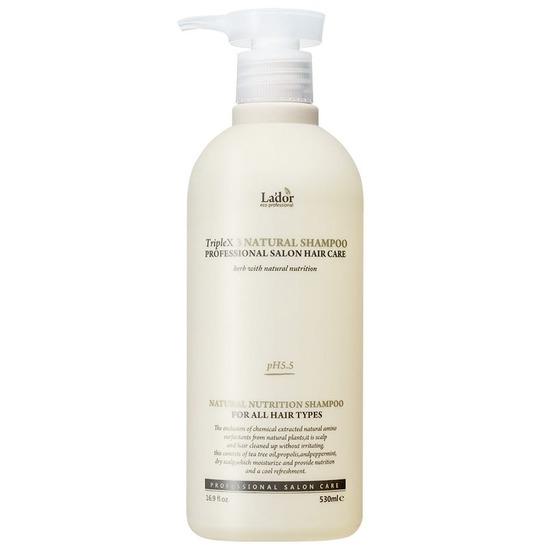 Профессиональный шампунь с натуральными ингредиентами Triple x3 Natural Shampoo Lador (фото)