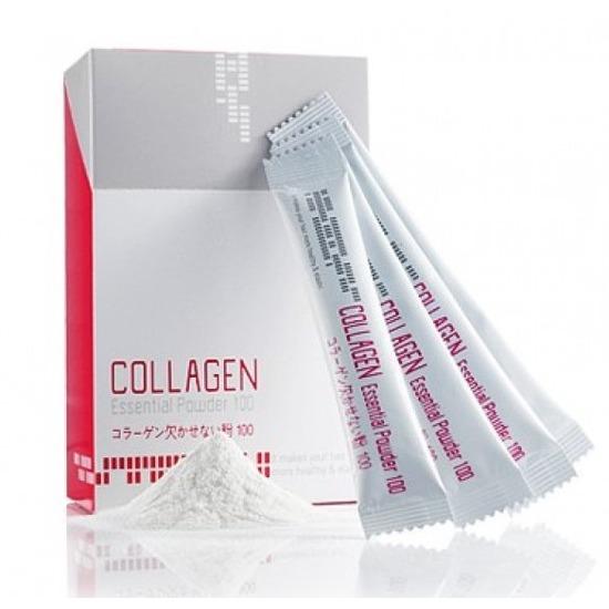 Восстанавливающая коллагеновая сыворотка пудра для волос Mugens Collagen Essential Powder Welcos (фото)