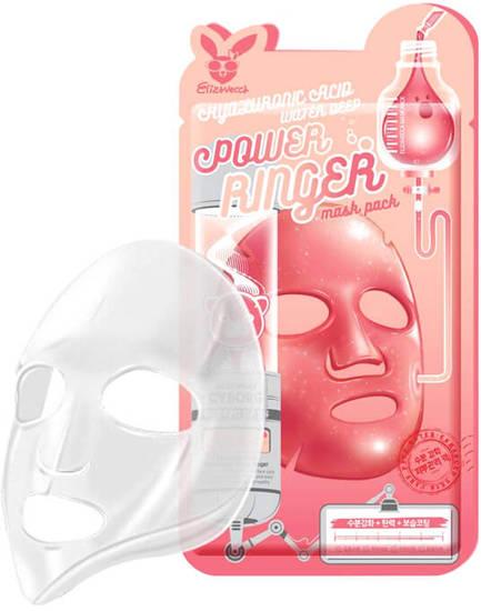 Увлажняющая тканевая маска для лица с гиалуроновой кислотой Elizavecca