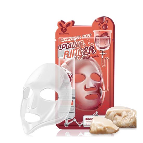 Омолаживающая тканевая маска для лица с коллагеном Elizavecca