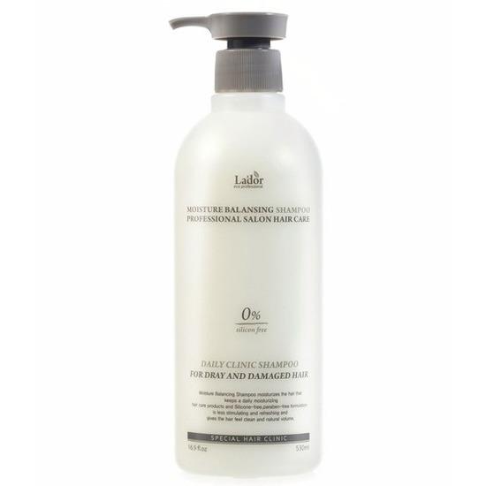 Безсиликоновый увлажняющий шампунь Moisture Balancing Shampoo Lador