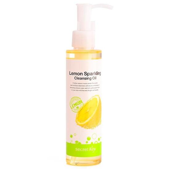 Гидрофильное масло с экстрактом лимона для снятия макияжа Secret Key (фото)