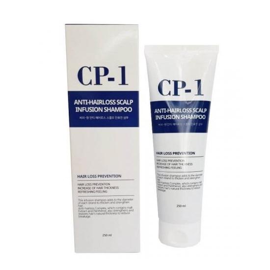 Шампунь против выпадения волос CP-1 Anti-Hair Loss Scalp Infusion Shampoo Esthetic House (фото)