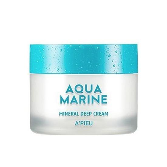 Глубокоувлажняющий минеральный крем Aqua Marine Mineral Deep Cream Apieu (фото)