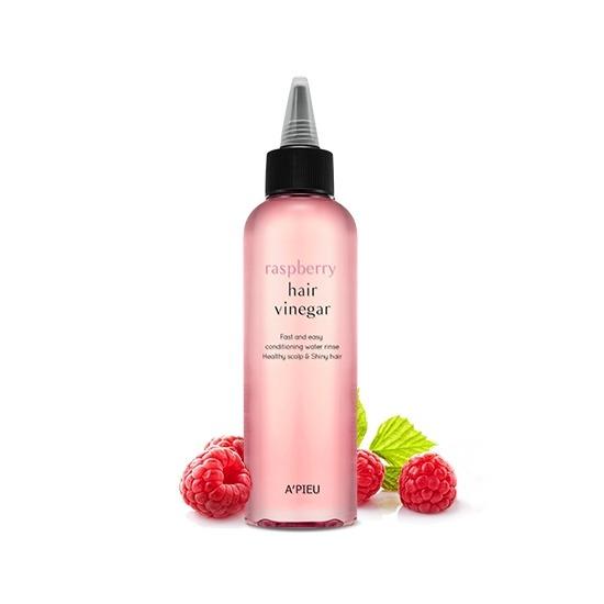 Уксус для волос малиновый Raspberry Hair Vinegar Apieu (фото)