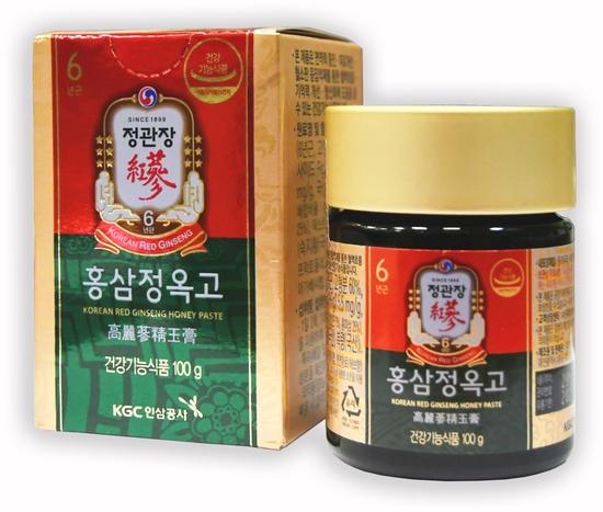 Медовая паста с экстрактом корейского красного женьшеня с травами Cheong Kwan Jang (фото)