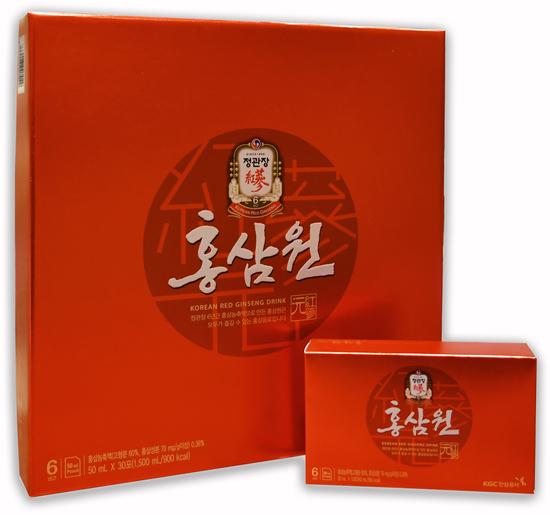 Безалкогольный негазированный напиток с экстрактом корейского красного женьшеня Cheong Kwan Jang (фото)