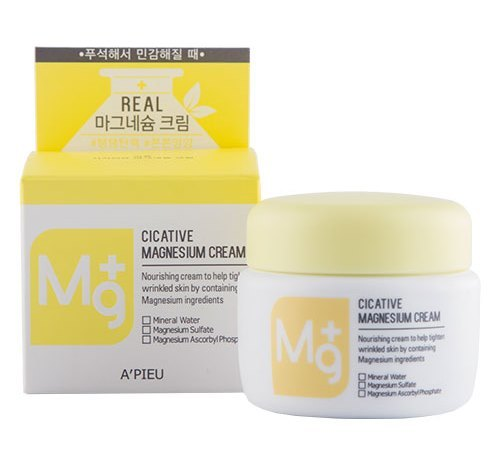 Крем для лица с магнием Cicative Magnesium Cream Apieu
