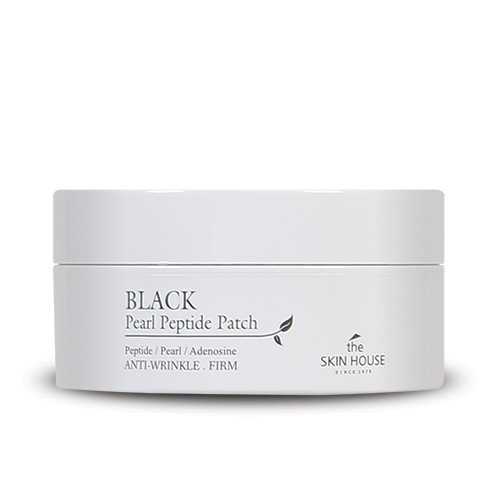 Гидрогелевые патчи для кожи вокруг глаз с черным жемчугом и пептидами Black Pearl Peptide Patch The Skin House