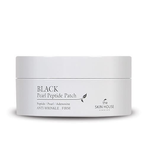 Гидрогелевые патчи для кожи вокруг глаз с черным жемчугом и пептидами Black Pearl Peptide Patch The Skin House (фото)