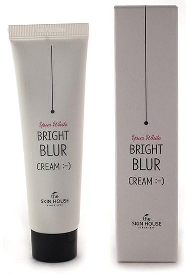 Крем фотошоп выравнивающий цвет лица Bright Blur Cream The Skin House