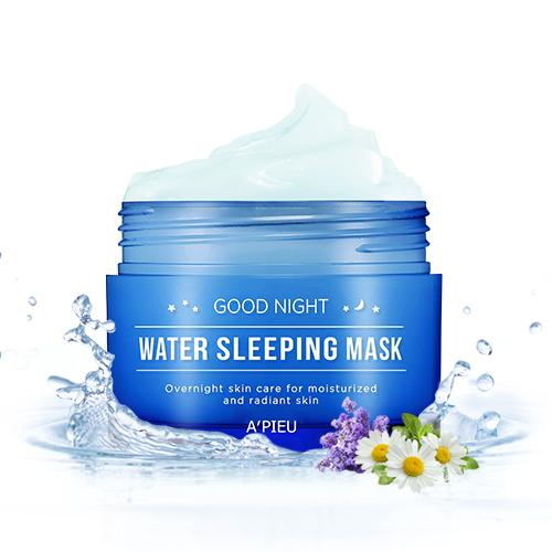 Маска для лица ночная Good Night Water Sleeping Mask Apieu (фото)