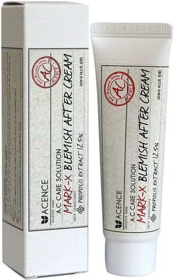 Крем для залечивания шрамов и рубцов-постакне Acence Mark-X Blemish After Cream Mizon (фото)