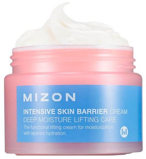 Интенсивно увлажняющий крем для лица с гиалуроновой кислотой Intensive Skin Barrier Cream Mizon