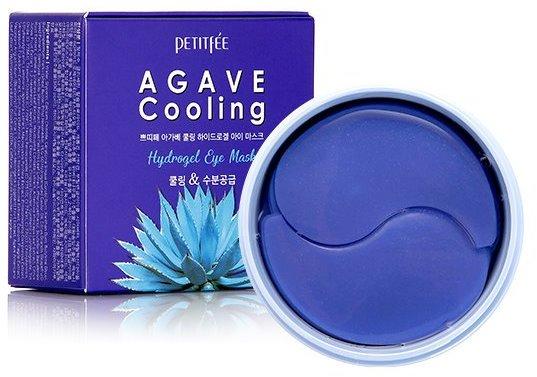 Гидрогелевые охлаждающие патчи для глаз с экстрактом агавы Agave Cooling Hydrogel Eye Mask Petitfee (фото)