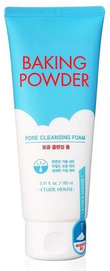 Очищающая пенка для умывания с содой тройного действия Baking Powder Pore Cleansing Foam Etude House