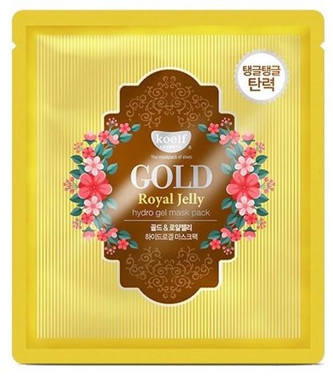 Гидрогелевая маска для лица с золотом и маточным молочком Gold Royal Jelly Hydrogel Mask Pack KOELF (фото)
