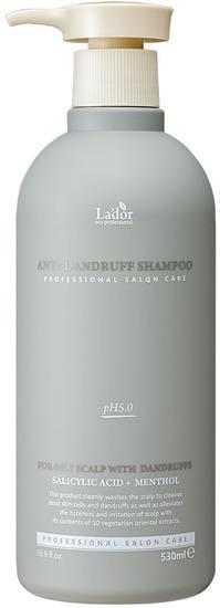 Слабокислотный шампунь против перхоти Anti Dandruff Shampoo Lador (фото)