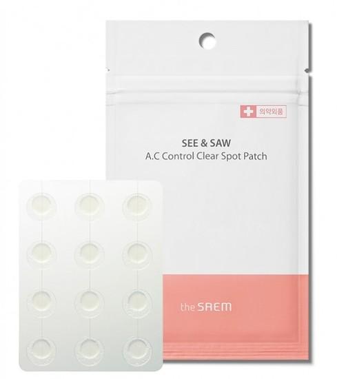 Патчи для проблемной кожи A.c Control Spot Patch The Saem (фото)
