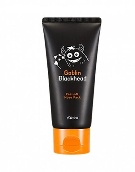 Маска-пленка для носа Goblin Blackhead Peel-Off Nose Pack Apieu (фото, Маска-пленка для носа APieu Goblin Blackhead Peel-Off Nose Pack)