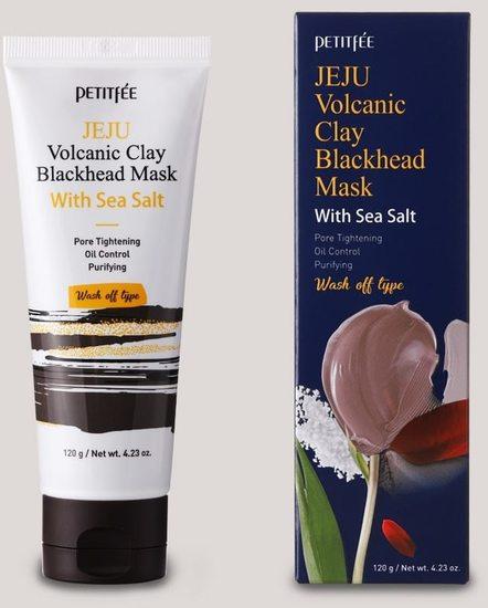 Очищающая маска с вулканической глиной и морской солью Petitfee (фото)