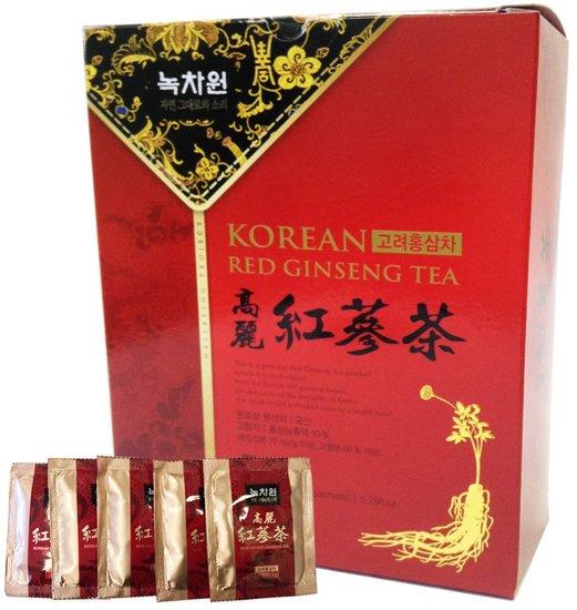 Напиток из красного корейского женьшеня гранулированный Nokchawon (фото)